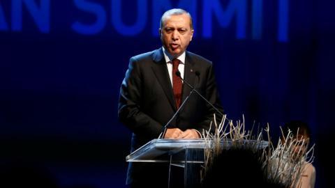 Erdogan urges world leaders to fix international aid system