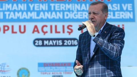 Erdogan slams US for its ''support'' of PYD
