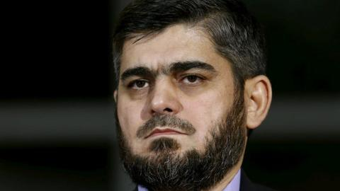 Syria opposition's chief peace negotiator steps down