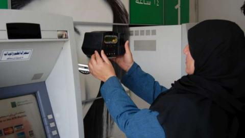 Iris-scan system for refugees: aid in the blink of an eye