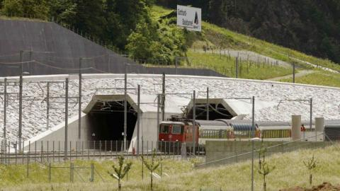 World's longest railway tunnel opens in Switzerland