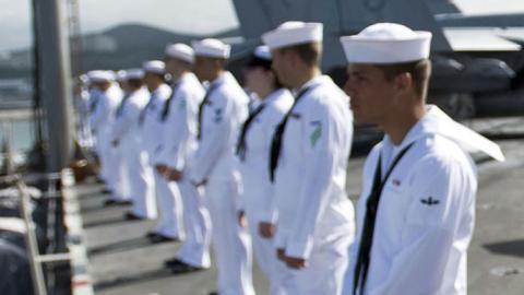 US navy punishes sailors in Japan after drunken incident