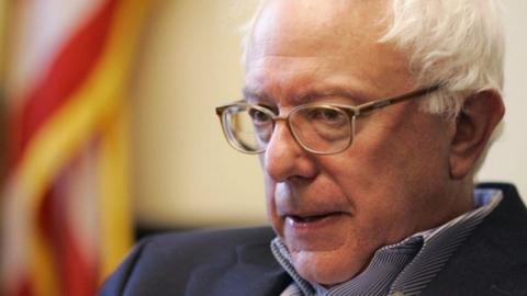 Bernie Sanders hasn't given up just yet
