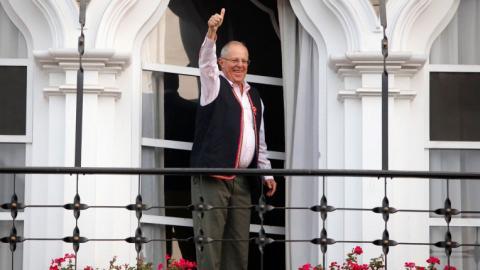 Kuczynski leads Peru's presidential election