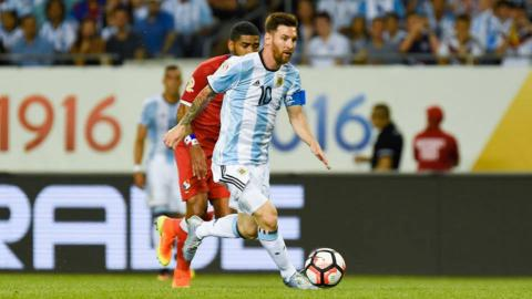 Copa America: Hat-trick hero Messi eases Argentina into QF