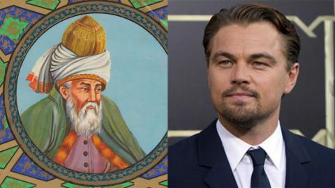 DiCaprio as Rumi? Twitter erupts with whitewashing outcry