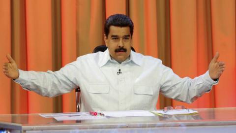 Venezuela's Maduro rules out recall referendum before 2017