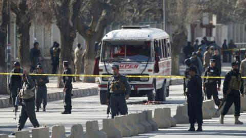 At least six killed in suicide bombing in Afghanistan