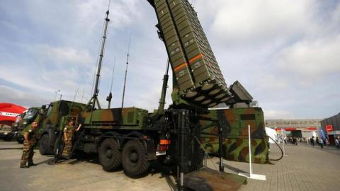 Italy deploys air defence system to Turkey