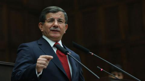 Davutoglu says Turkey stands by Azerbaijan in Karabakh conflict