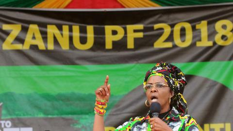 South Africa issues arrest warrant for Zimbabwe's Grace Mugabe
