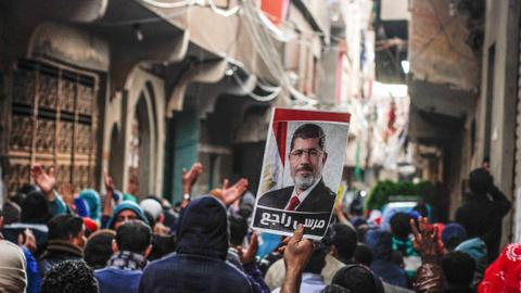 US, EU 'turn a blind eye' to Morsi's death