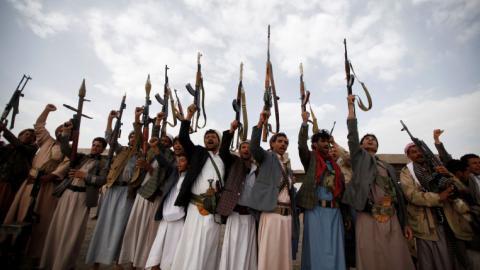 Saudi-led air strikes kill at least seven in Yemen