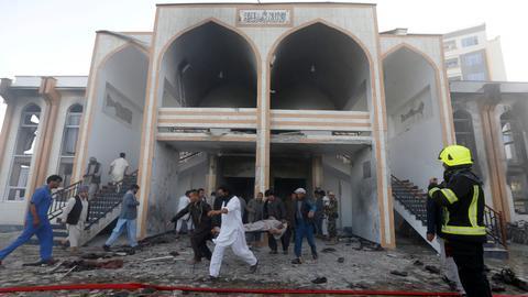 Multiple explosions target Shia shrine in Kabul on Nowruz