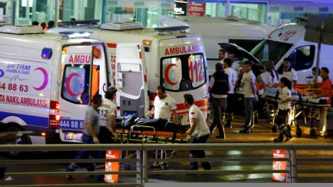 Turkey says DAESH behind deadly airport attack