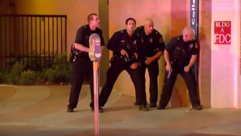 Attack on Dallas police appears to have racial component