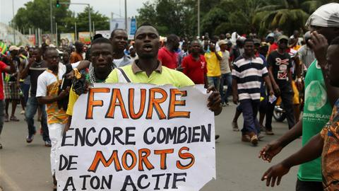 Protest ban scrapped in Togo
