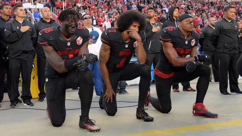 Kaepernick defends protesters after police killing