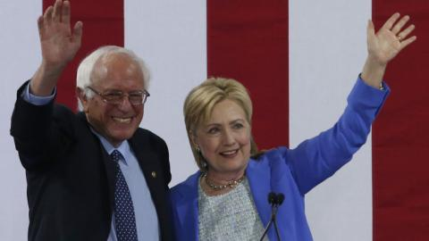 Sanders endorses Clinton for president to ensure party unity