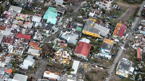 US Virgin Islands struggles to recover after hurricane Irma and Maria
