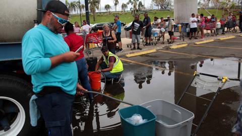 Trump calls Puerto Rico officials as relief efforts fall short