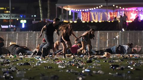 At least 59 dead in Las Vegas shooting; gunman killed