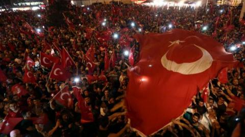 Millions of Turks continue taking a stand for democracy