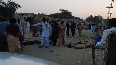 Death toll from suicide attack in Pakistan climbs to 18