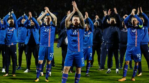 Iceland, Serbia book 2018 World Cup spots