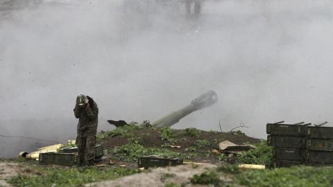 Azerbaijan says Armenian-backed militias breaking ceasefire