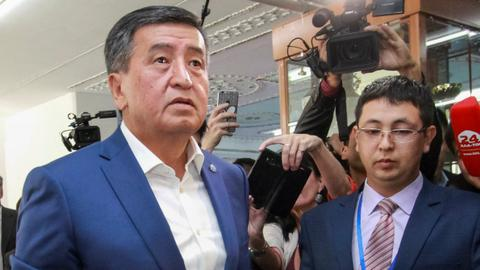 Sooronbai Jeenbekov wins Kyrgyzstan's presidential election