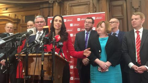 New Zealand's Labour returns to power at head of coalition government