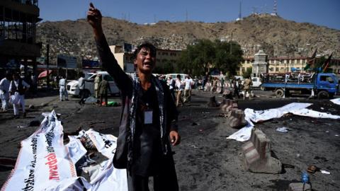Fatal blasts target peaceful protest in Kabul