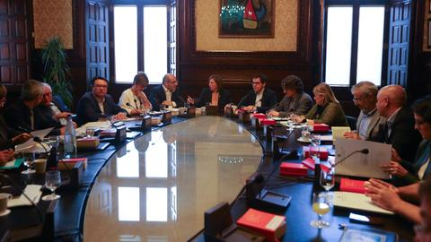 Catalan parliament to hold key session