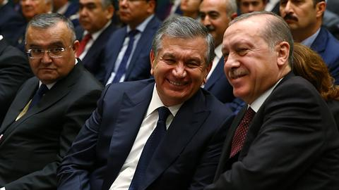How did Turkey-Uzbek relations improve after two decades of stagnation?