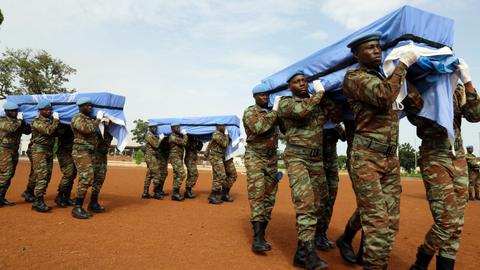 Ten UN peacekeepers killed in attack in northern Mali by Al Qaeda affiliate