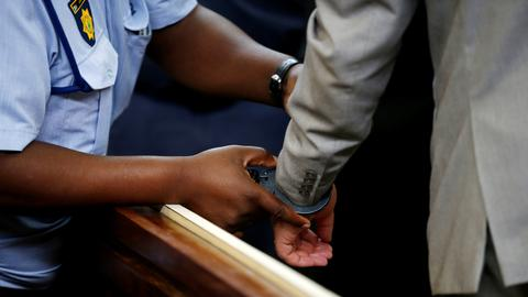 South Africans who forced man into coffin sentenced to jail