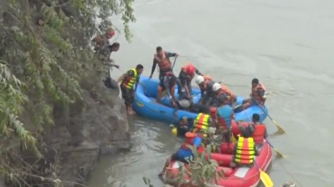 Bus plunges into river in Nepal, killing at least 31 people