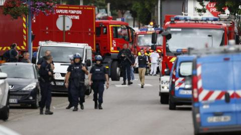 One hostage slain, two assailants neutralised in France