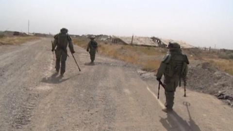 Daesh militants move to Syria's remote desert