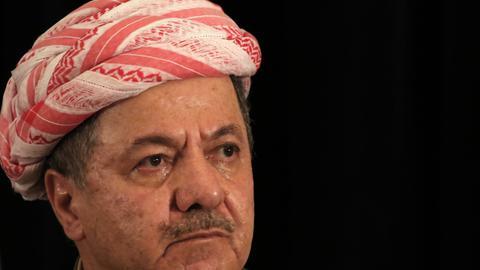 Iraqi Kurdish leader Barzani confirms he is stepping down