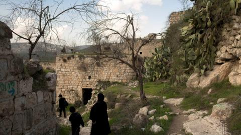 Abandoned Palestinian village near Jerusalem frozen in time
