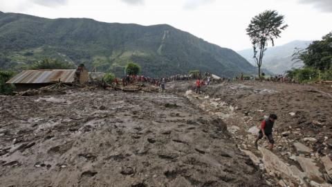 Dozens killed in Nepal landslides