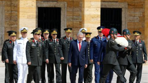 Turkey sees record number of military dismissals