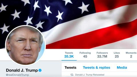 Twitter says departing employee deactivated Trump's account