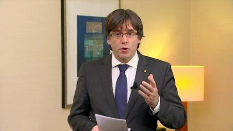 Ex-Catalan leader Puigdemont, former ministers to appear in court hearing