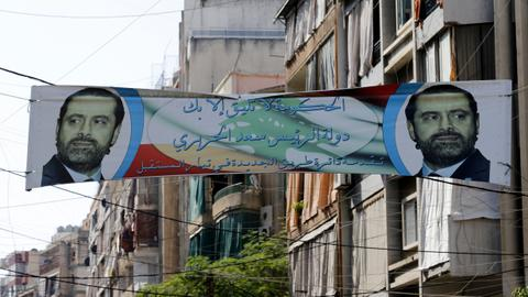 Lebanon's president awaits Hariri's return, calls for national unity