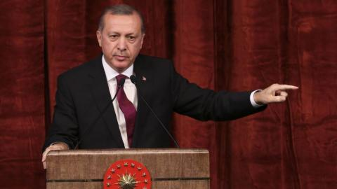Those concerned about putschists aren't our friends: Erdogan