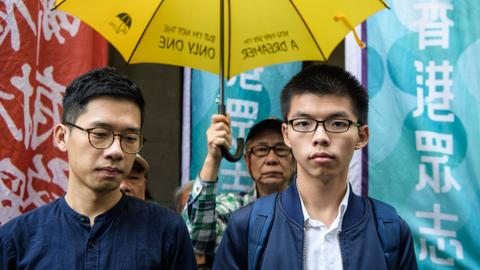 Hong Kong pro-democracy activists allowed to appeal jail terms