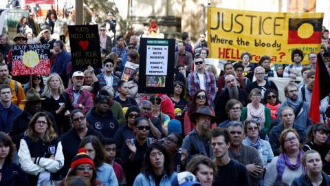 Australians protest torture of children in detention